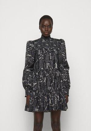 LOVE NOTE RIKA DRESS - Day dress - black/ivory