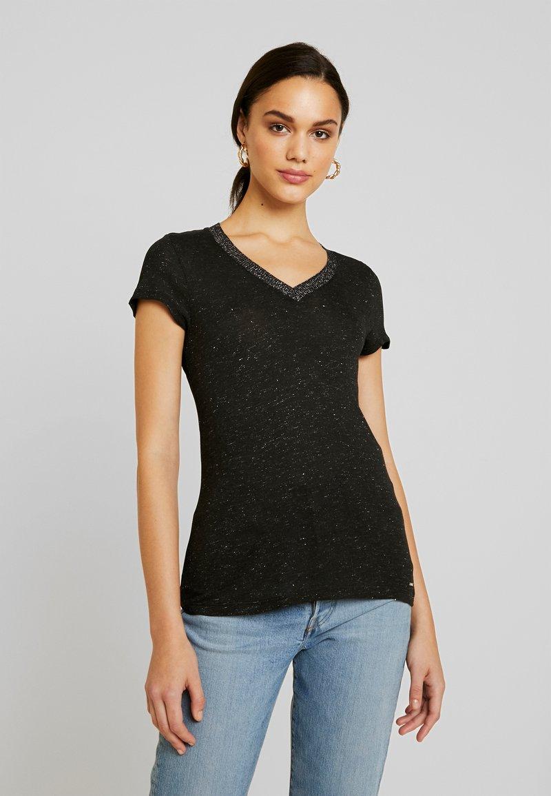 Morgan - DALI - T-shirt imprimé - noir