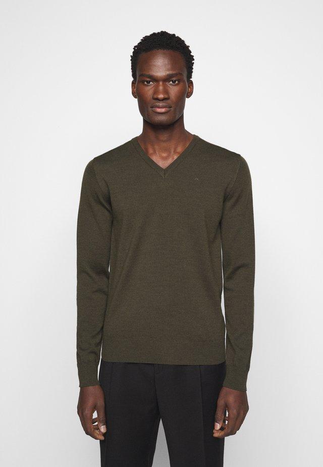 LYMANN - Pullover - moss green