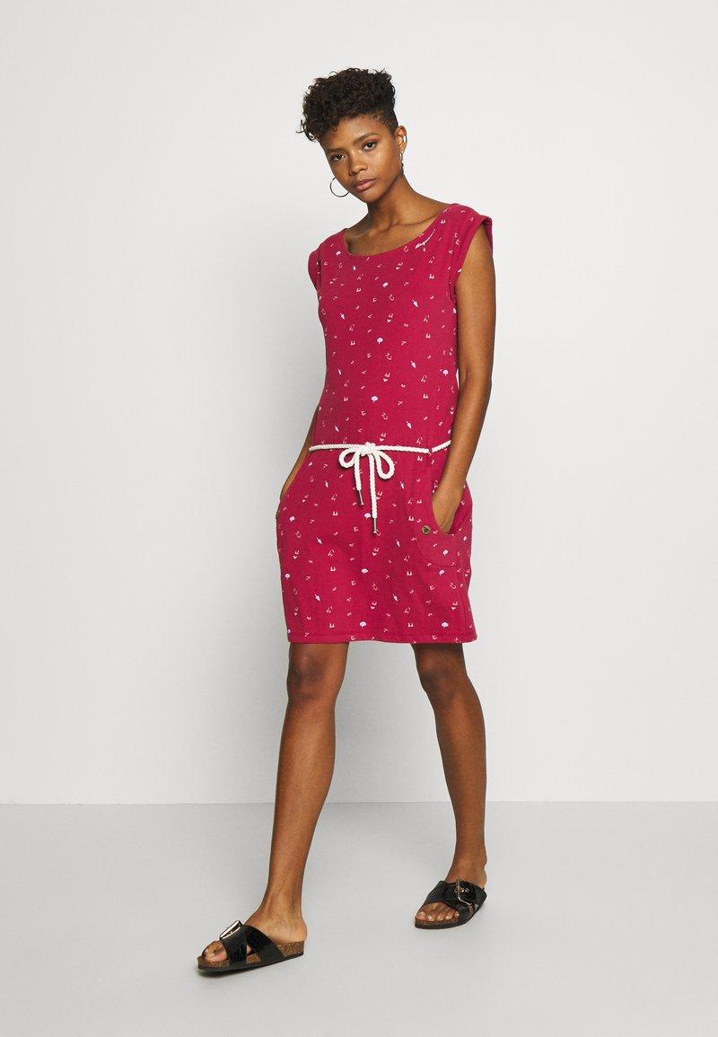 Ragwear - TAG - Žerzejové šaty - red