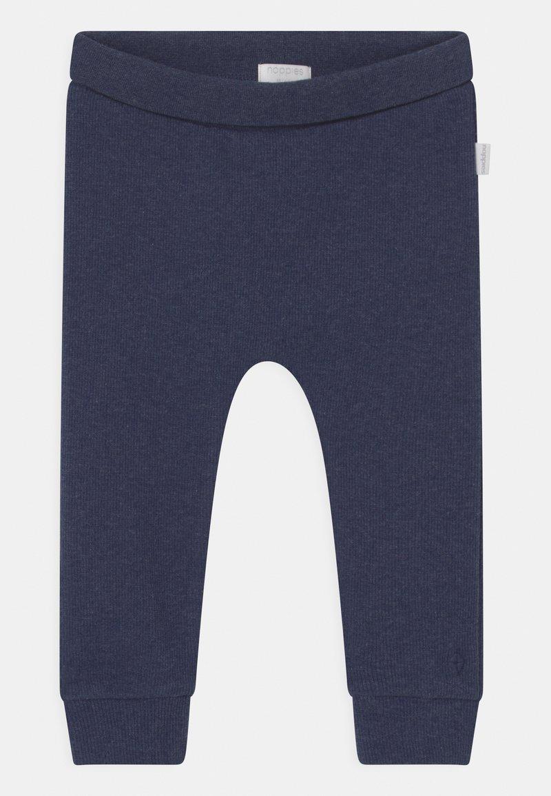 Noppies - BABY COMFORT NAURAL UNISEX - Kalhoty - navy melange