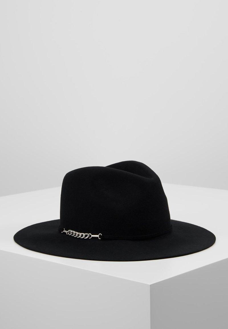 Pieces - Sombrero - black/silver-coloured