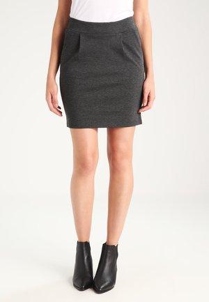 IHKATE - Mini skirt - dark grey melange