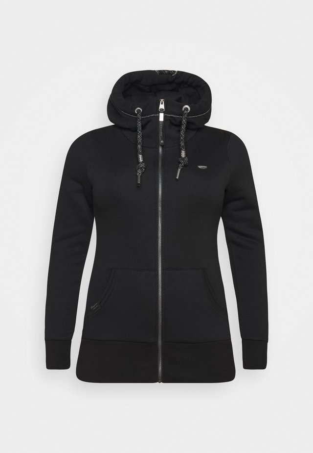 NESKA ZIP PLUS - Sweatjakke /Træningstrøjer - black
