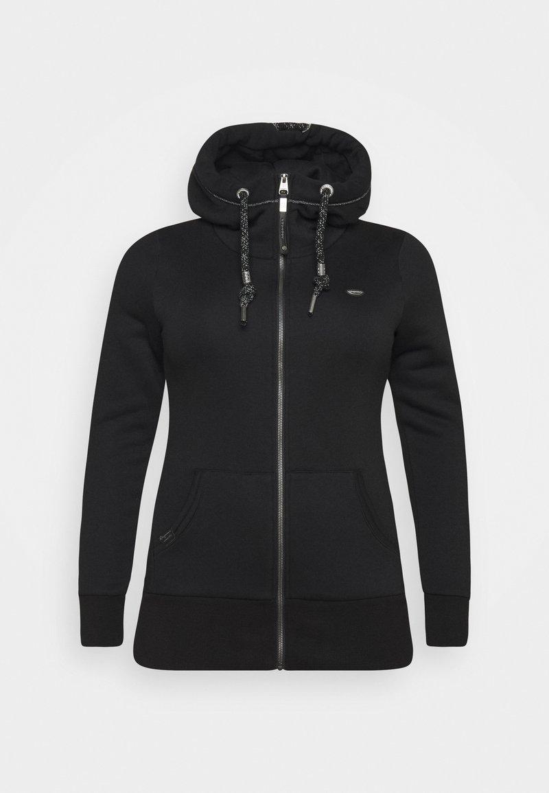 Ragwear Plus - NESKA ZIP PLUS - Sweatjakke - black