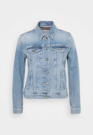 MODERN TRUCKER LUXE VINTAGE SKYWALK - Denim jacket - light blue