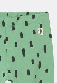 Lindex - MULTI ANIMAL 2 PACK UNISEX - Leggings - Trousers - light green - 3