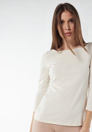 MIT U-BOOT - Long sleeved top - natural