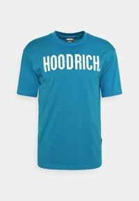 Hoodrich - CORE - Print T-shirt - blue - 4