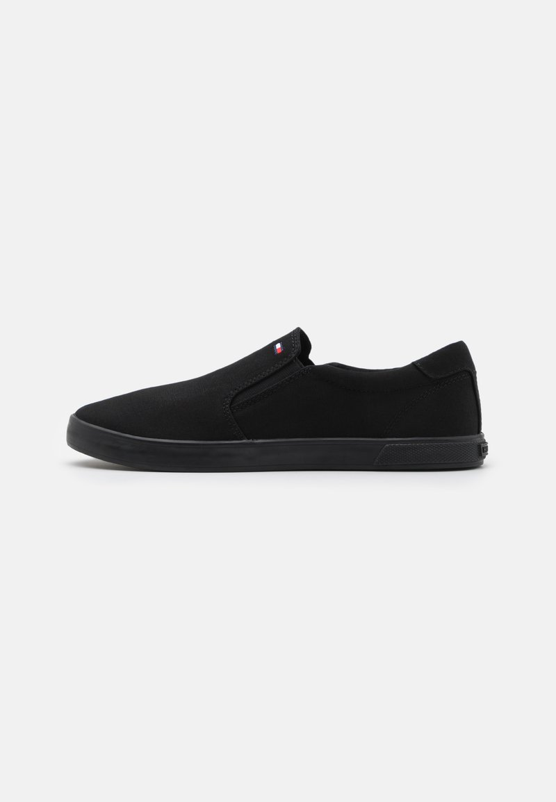 Tommy Hilfiger - ICONIC SLIP ON - Trainers - triple black