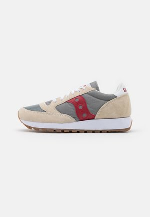 JAZZ VINTAGE - Joggesko - marshmallow/grey/red