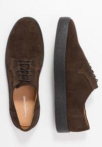 Vagabond - LUIS - Stringate sportive - dark brown - 7