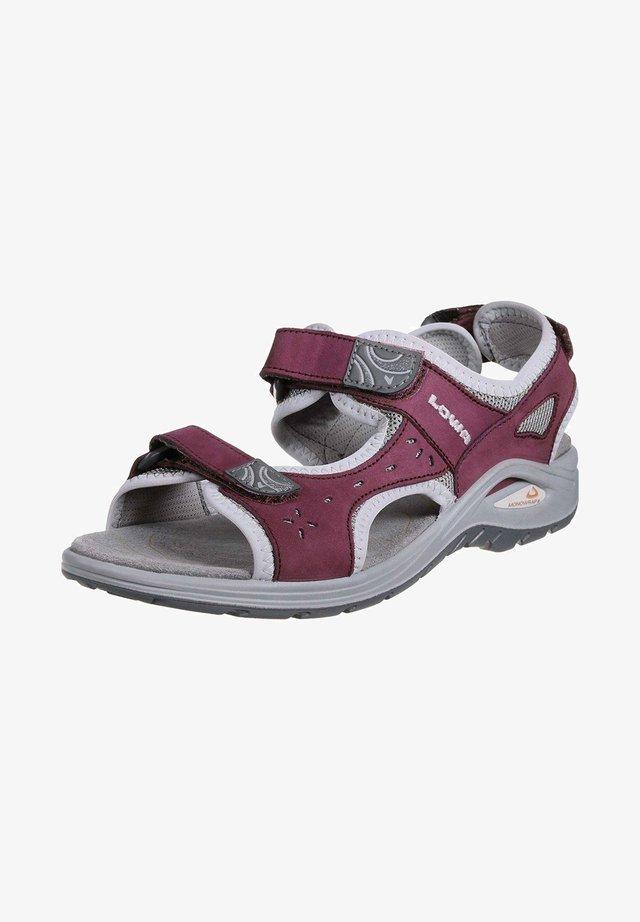 Sandales de randonnée - rot