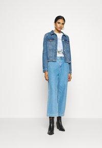 Vero Moda - VMFAITH JACKET  - Denim jacket - medium blue denim - 1