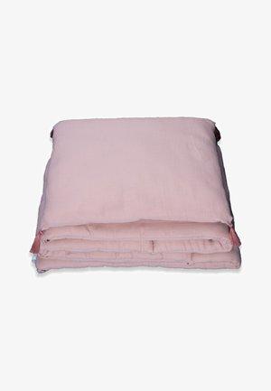 MUSLIN BUMPER SET  - Muslin blanket - powder pink