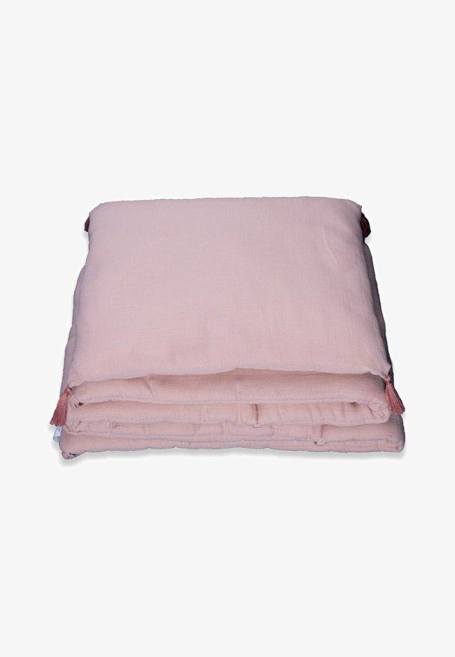 MUSLIN BUMPER SET  - Harsoliina - powder pink