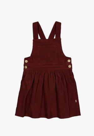Day dress - maroon