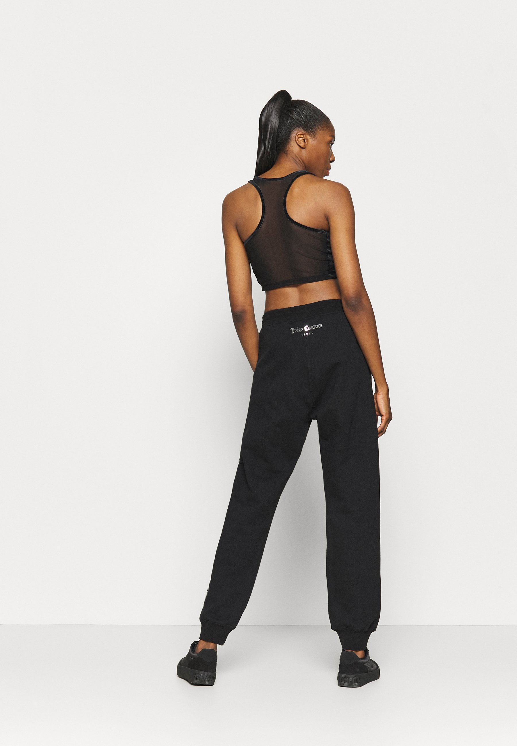 Juicy Couture IVY - Tracksuit bottoms - black 8pAdp