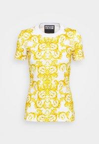 Versace Jeans Couture - LADY - T-shirt z nadrukiem - optical white - 5