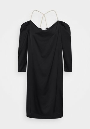 EMMY PEARL DRESS - Vestito elegante - black