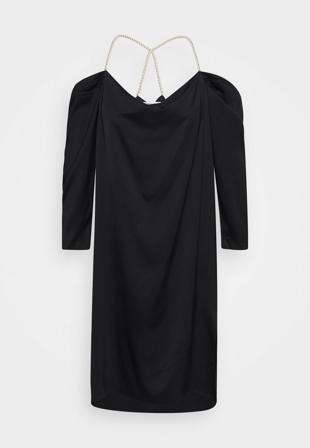 EMMY PEARL DRESS - Sukienka koktajlowa - black