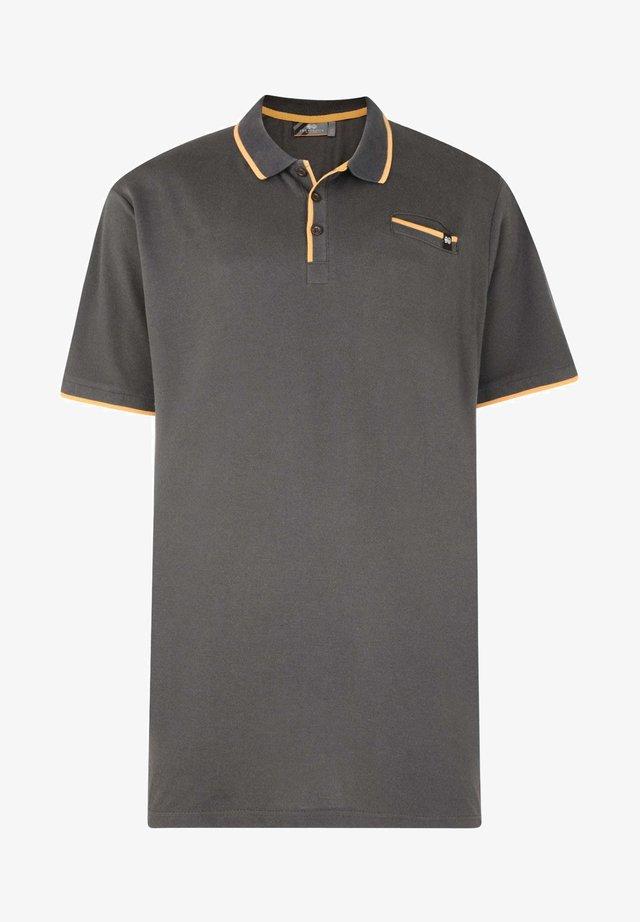 CROSSHATCH  - Polo shirt - black