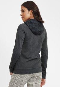 Oxmo - MATILDA - Zip-up hoodie - dar grey m - 2