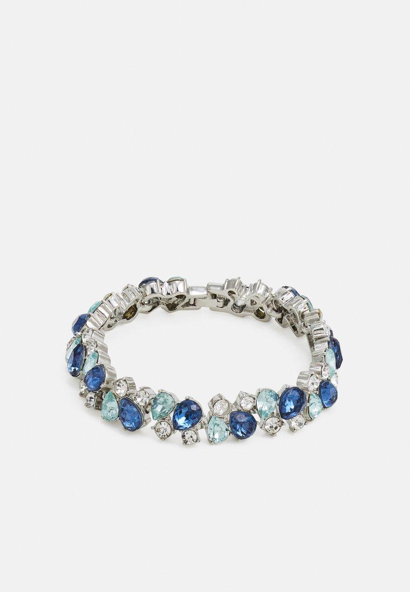Pieces - PCLALLAH BRACELET  - Bracelet - silver colour/blue