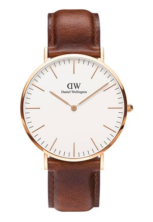 CLASSIC ST MAWES 40MM - Hodinky - brown/rose gold coloured