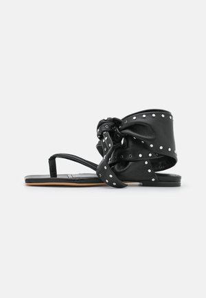 ARZON - T-bar sandals - black