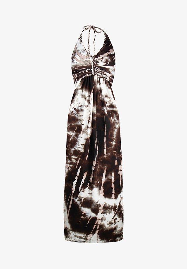HALTER JURK SAMOA - Vestito lungo - brown