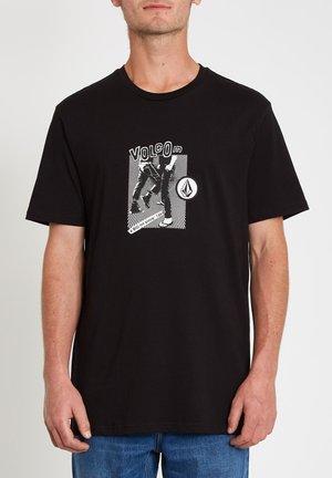 HITTIN BSC SS - Print T-shirt - black