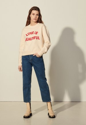 STAN - Sweatshirt - beige clair