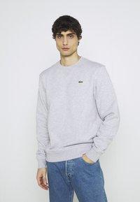 Lacoste - Sweatshirt - silver chine/elephant grey - 0