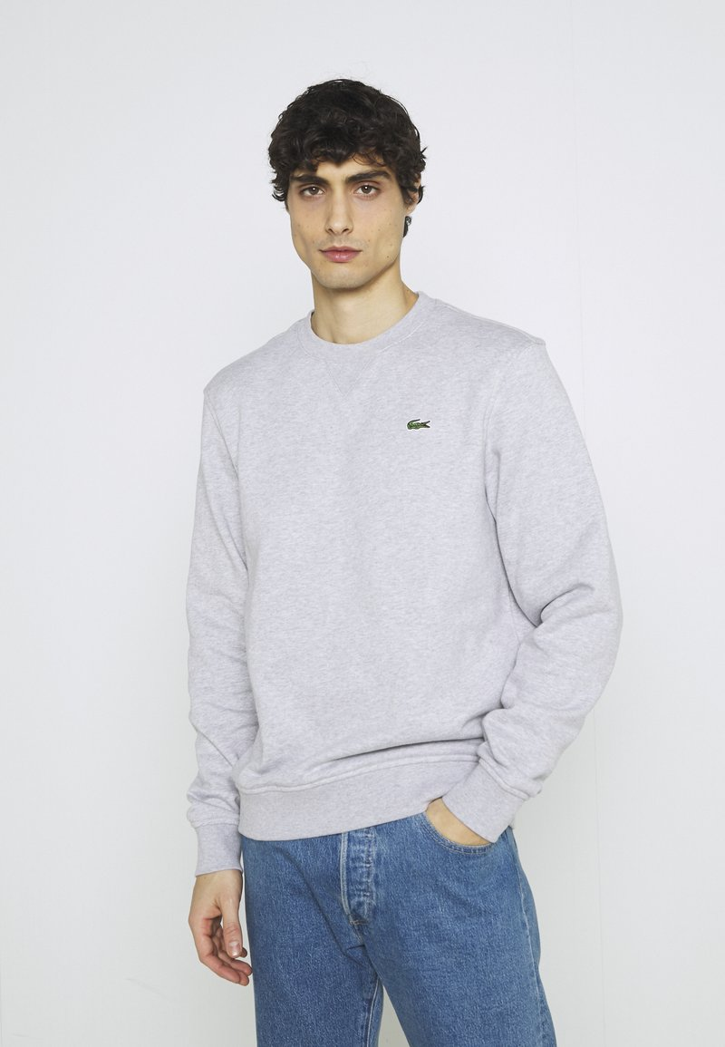 Lacoste - Sweatshirt - silver chine/elephant grey