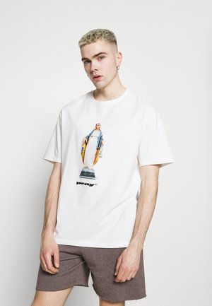 MOTHER  UNISEX - T-shirts med print - off-white