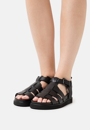 CORA - Sandály - black