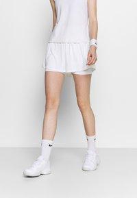 Nike Performance - SHORT - Sportovní kraťasy - white/black - 0