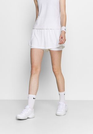 ADVANTAGE SHORT - Urheilushortsit - white/black