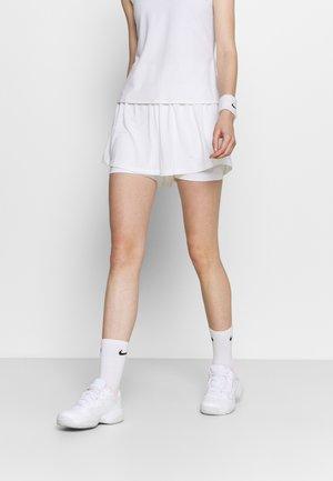 ADVANTAGE SHORT - Pantalón corto de deporte - white/black