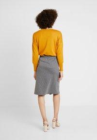 Soyaconcept - AMAJA - A-snit nederdel/ A-formede nederdele - dark grey melange - 2