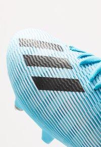 adidas Performance - X 19.3 SG - Screw-in stud football boots - bright cyan/core black/shock pink - 6