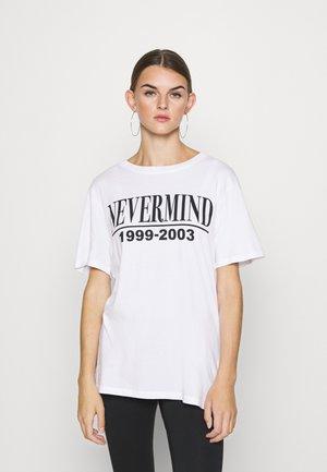 ELLIE TEE - T-shirt imprimé - white