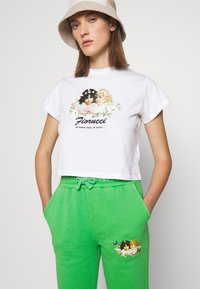 Fiorucci - WOODLAND VINTAGE ANGELS PATCH FOREST - Tracksuit bottoms - green - 3