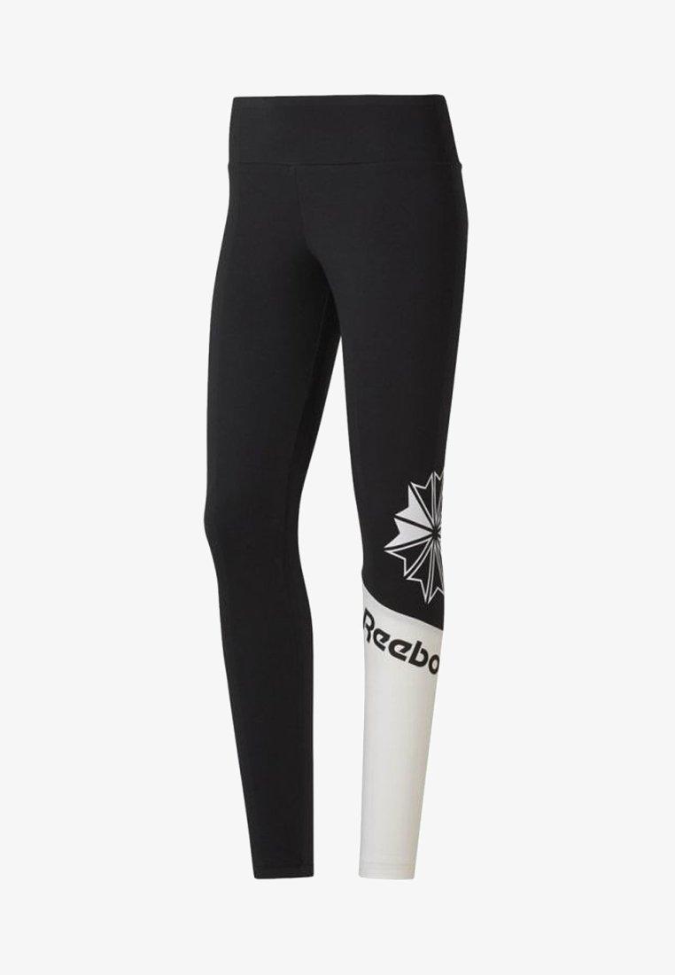 Reebok Classic - Leggings - Trousers - black