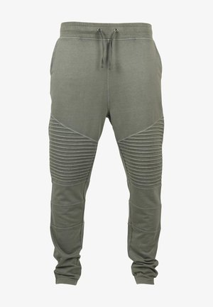 TERRY - Tracksuit bottoms - olive