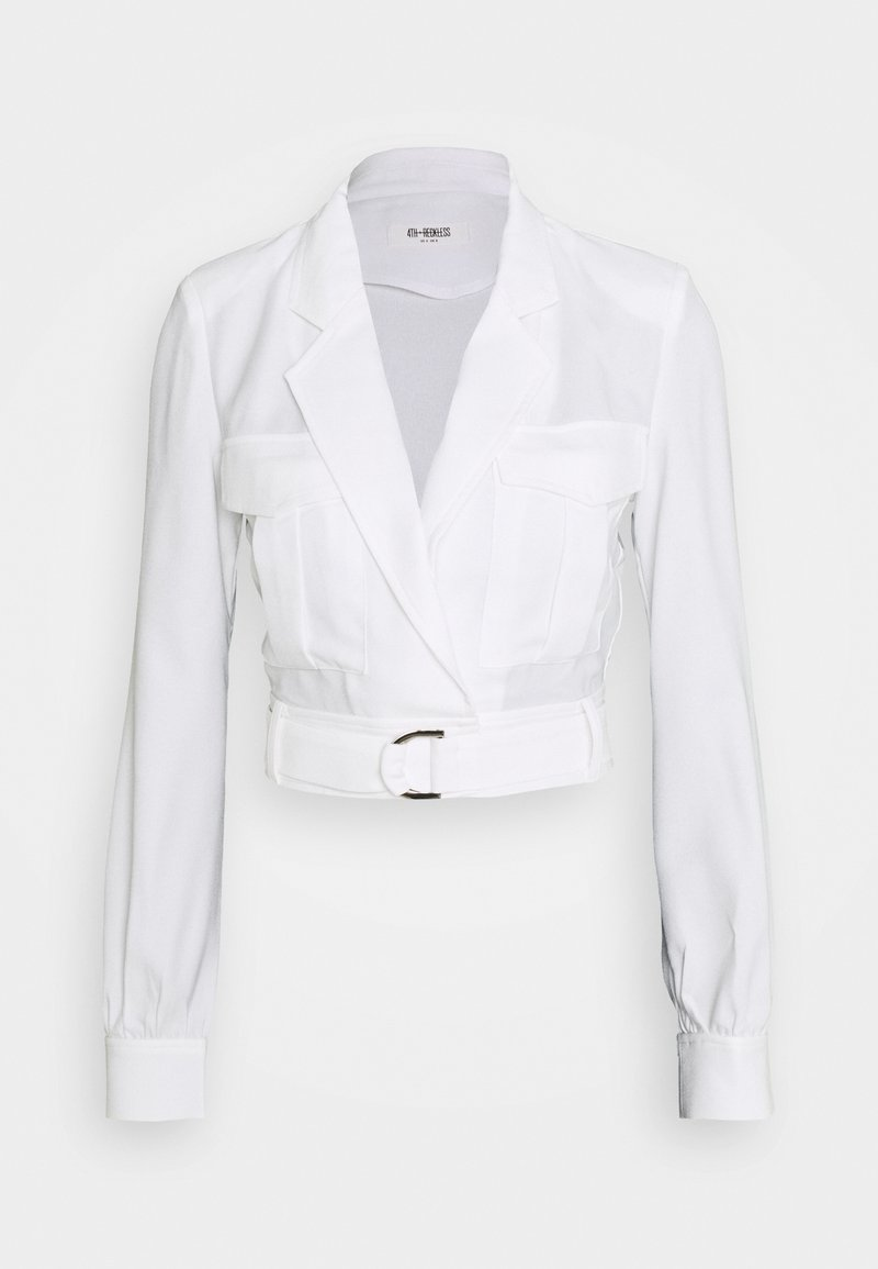 4th & Reckless - CHARLIE BLOUSE - Blouse - white