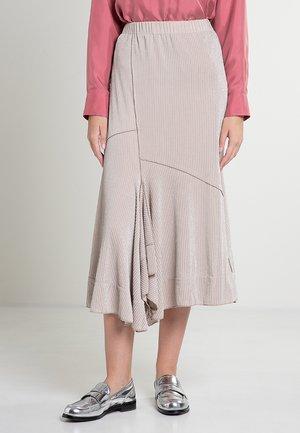 PESPA - Maxi skirt - nude