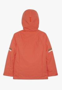 Ziener - ATHILDA JUNIOR - Ski jacket - coral - 3