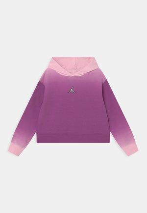 ESSENTIALS BOXY - Felpa con cappuccio - hyper violet